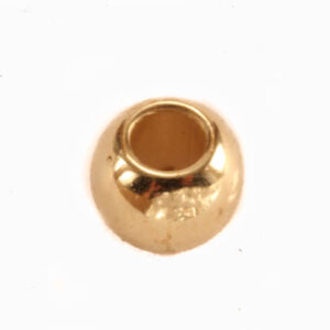 Kuldne helmes 6 mm
