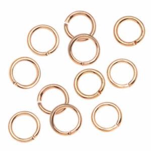 22k kullaga kaetud avatav rõngas 5 mm
