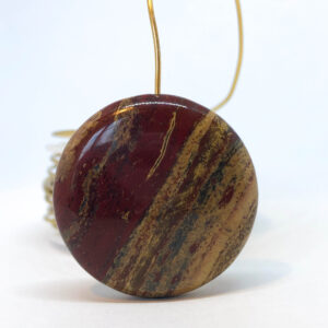 """Õuna"" jaspis lm.30 mm"
