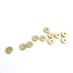 Metallist kuldne vahedetail 8 mm