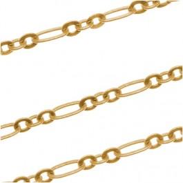 22k kullaga kullatud kett lm.2.5x4.5 mm