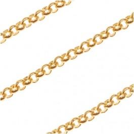 22k kullaga kaetud kett lm.2 mm