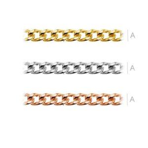 Kaelakett AG925 kaetud 24k kullaga