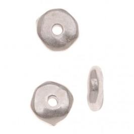 """Hõbedaga kaetud nuggat """"Heishe"""" lm.6 mm"""
